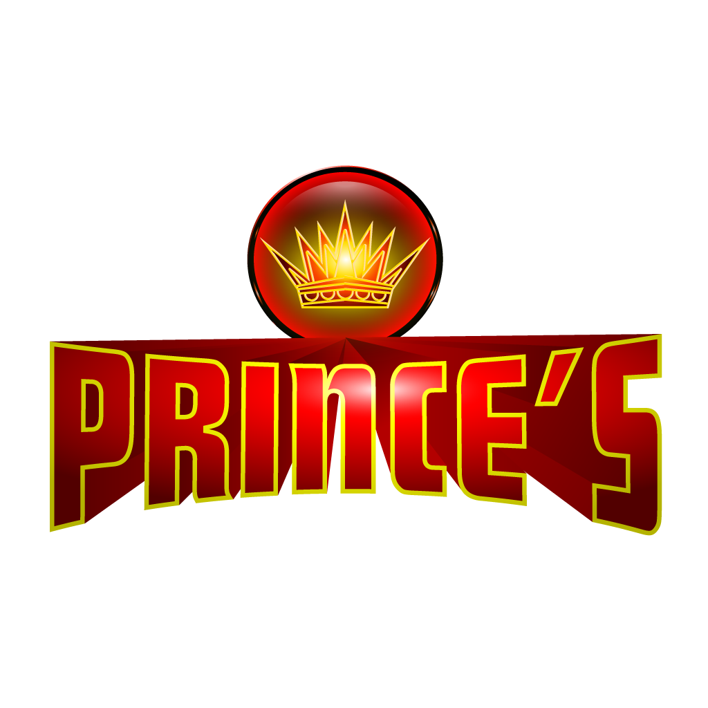 Princes Fast Food  Online Takeaway Menu Logo