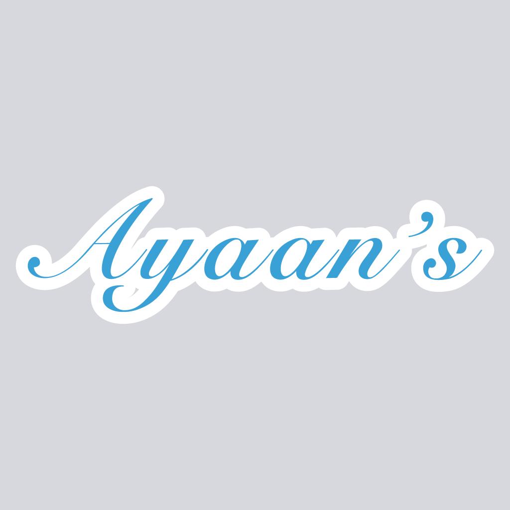 Ayaans  Online Takeaway Menu Logo