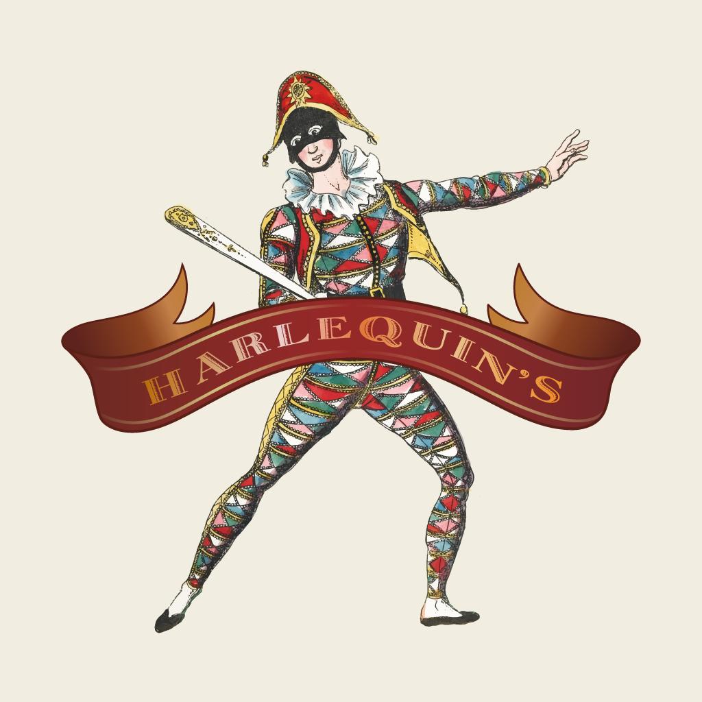 Harlequins Pizza Online Takeaway Menu Logo