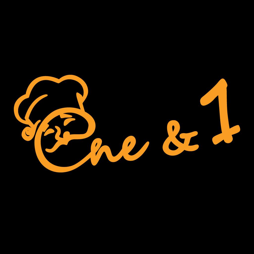 One & 1 Online Takeaway Menu Logo