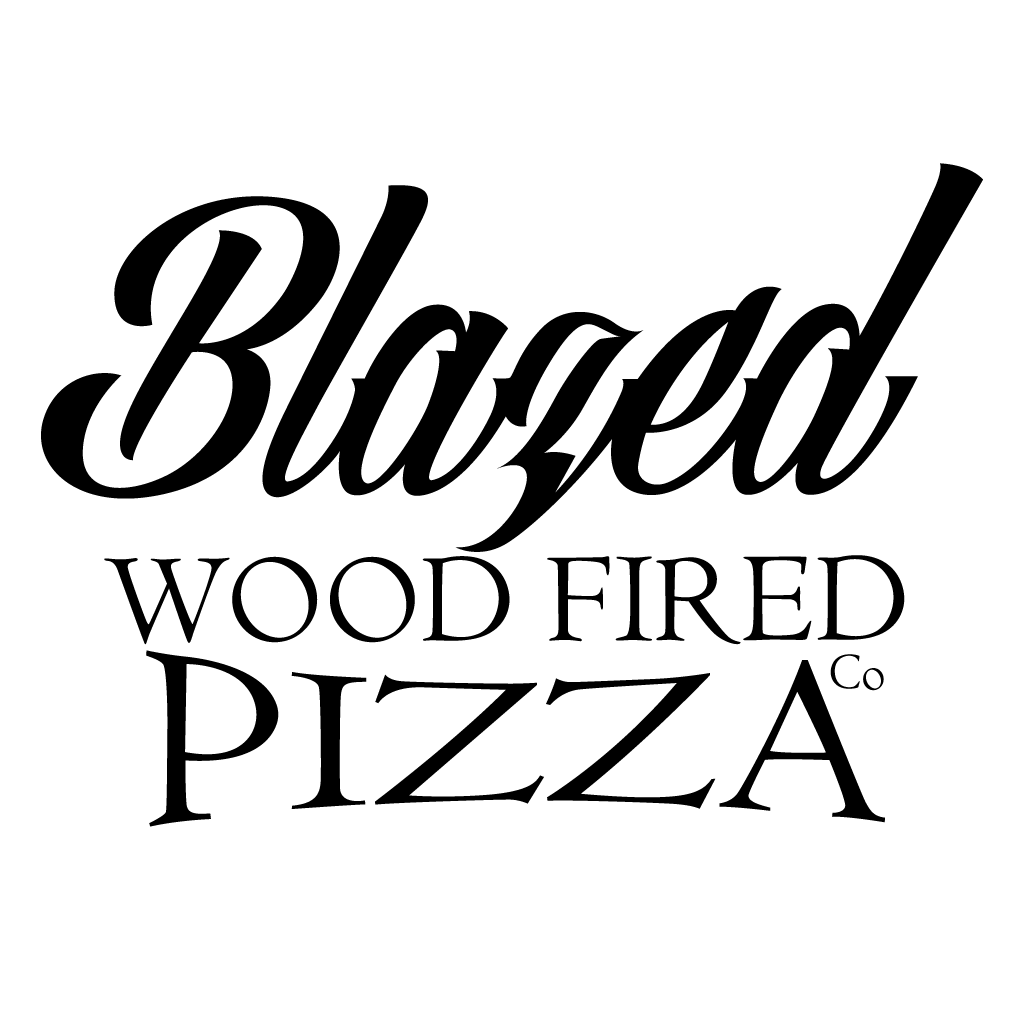Blazed Wood Fired Pizza Co Online Takeaway Menu Logo