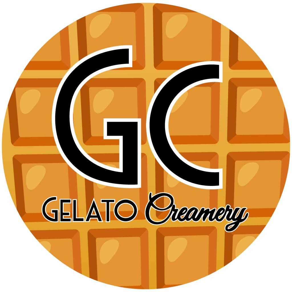 Gelato Creamery Online Takeaway Menu Logo