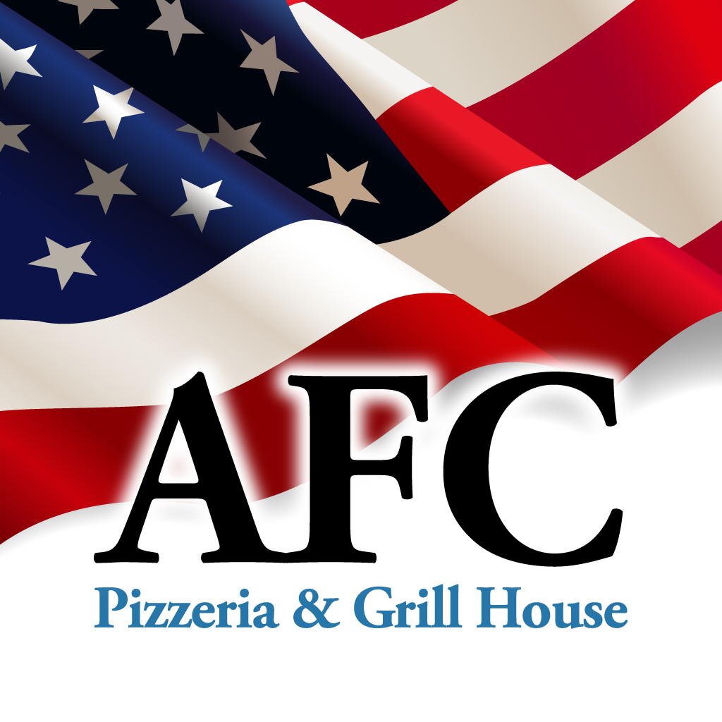 AFC Pizza and Grill  Online Takeaway Menu Logo