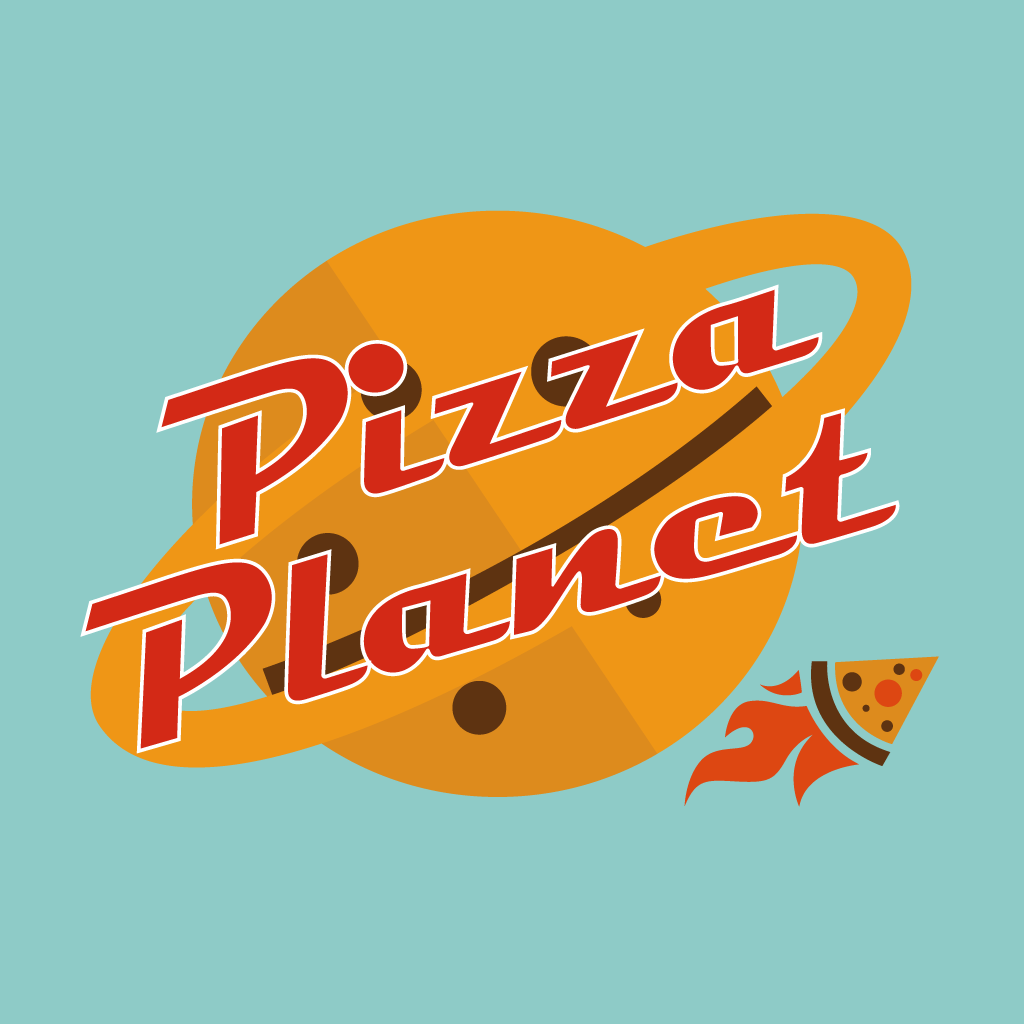 Pizza Planet  Takeaway Logo