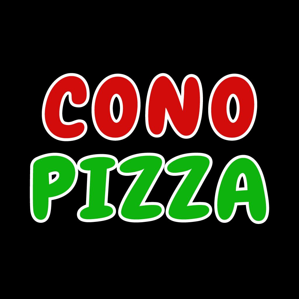 Cono Pizza Online Takeaway Menu Logo