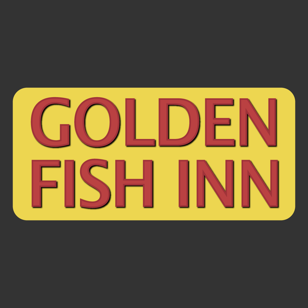 Golden Fish Inn Online Takeaway Menu Logo