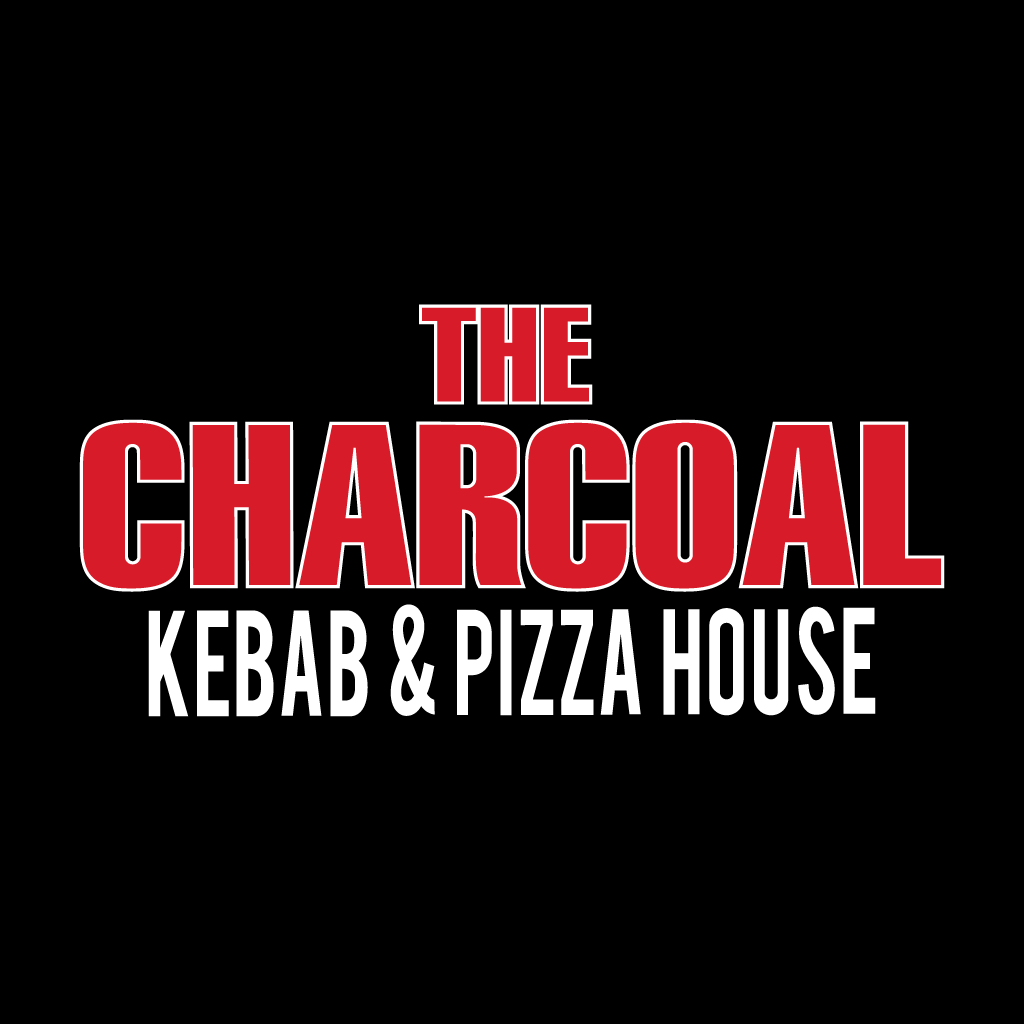 The Charcoal Kebab and Pizza House  Online Takeaway Menu Logo