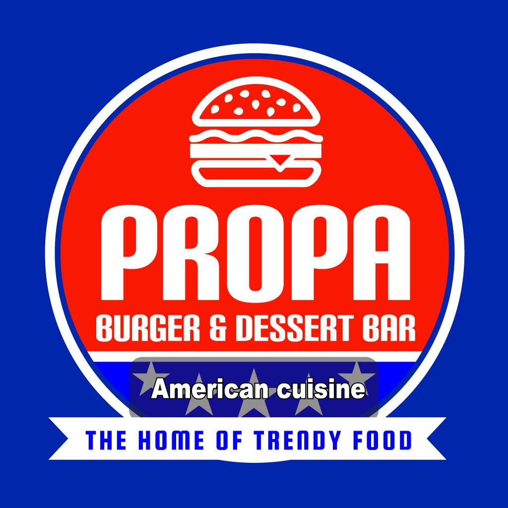 Propa Burger  Online Takeaway Menu Logo