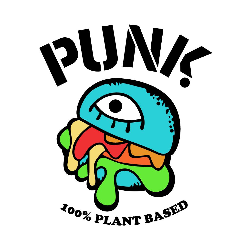 Punk Vegan Online Takeaway Menu Logo