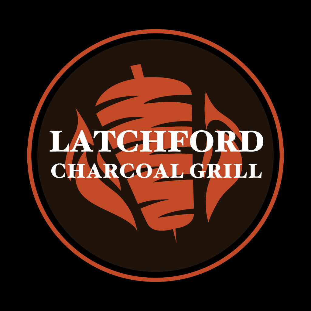 Latchford Charcoal Grill Online Takeaway Menu Logo