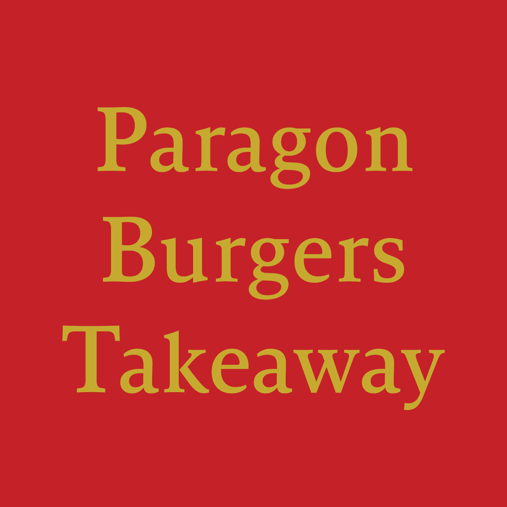 Paragon Square Burger Online Takeaway Menu Logo