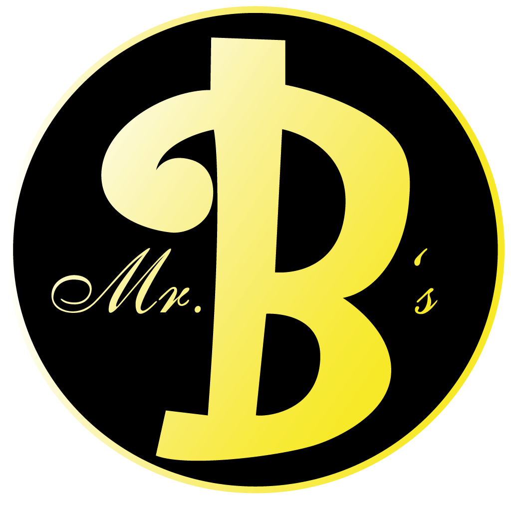 Mr Bs  Online Takeaway Menu Logo