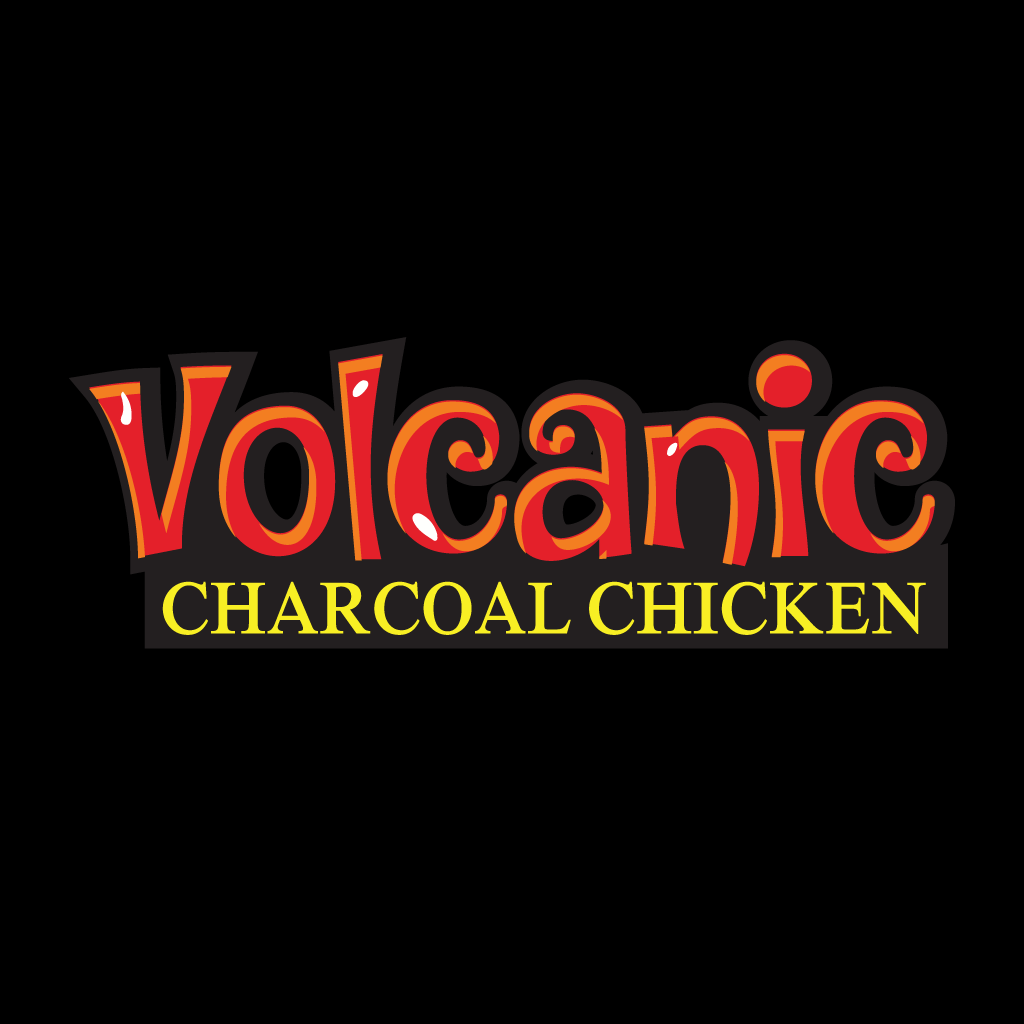 Volcanic Charcoal Chicken Online Takeaway Menu Logo