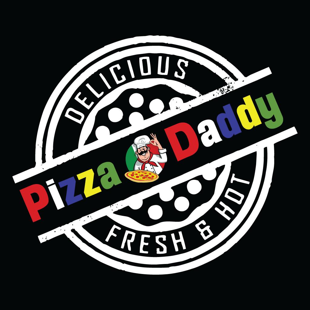 Pizza Daddy  Takeaway Logo