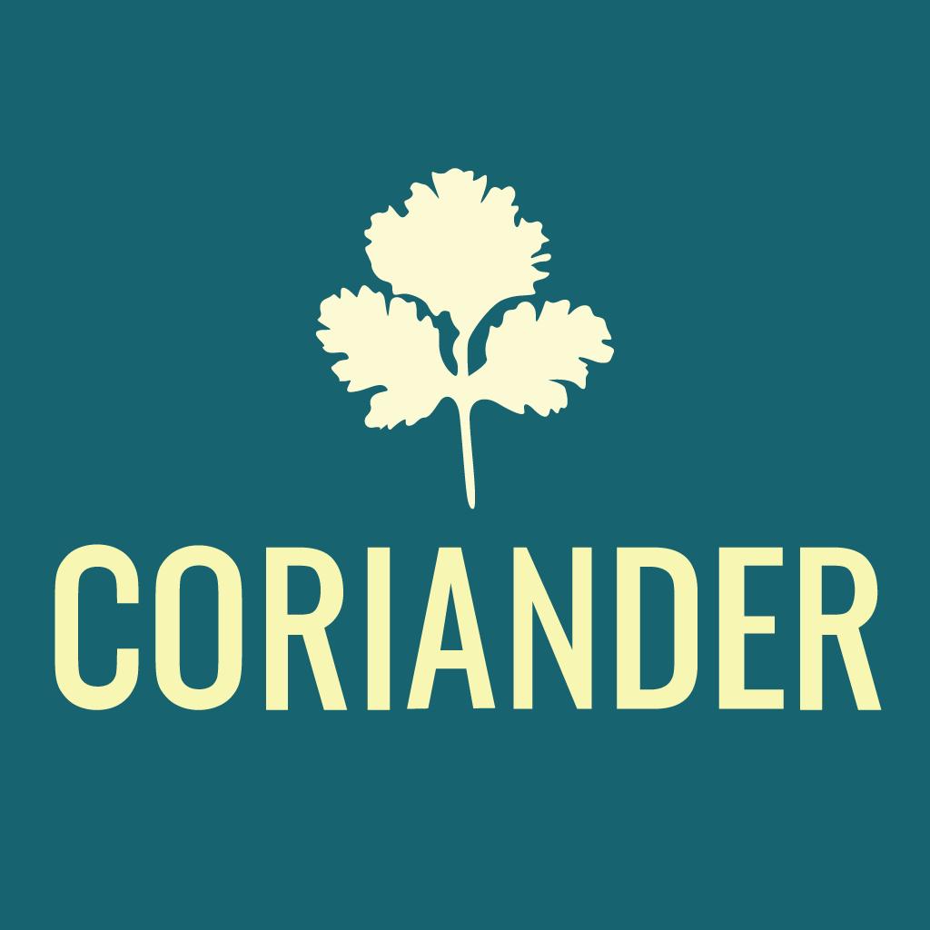 Coriander Online Takeaway Menu Logo