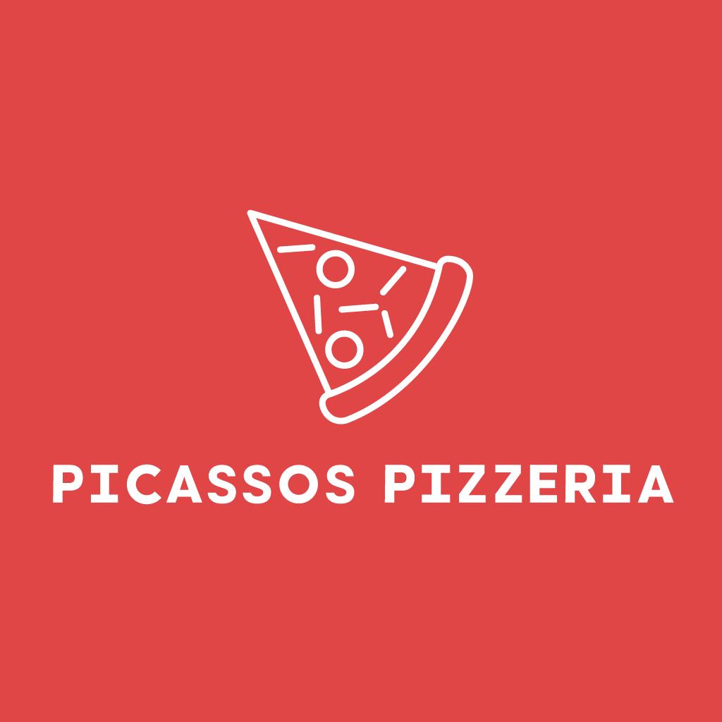 Picasso's Pizzeria  Online Takeaway Menu Logo