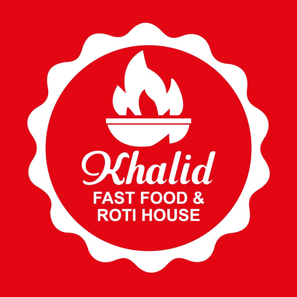 Khalid Fast Food & Roti House Online Takeaway Menu Logo