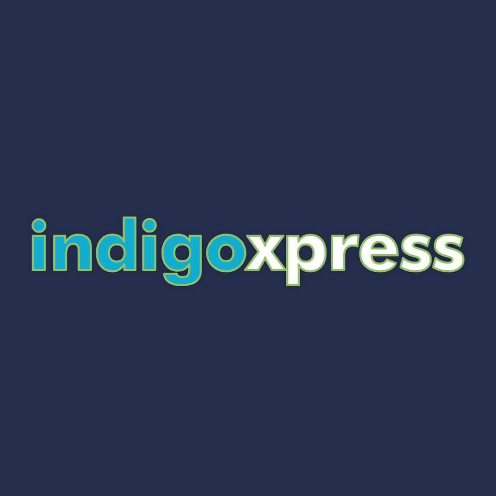 Indigo Xpress  Takeaway Logo