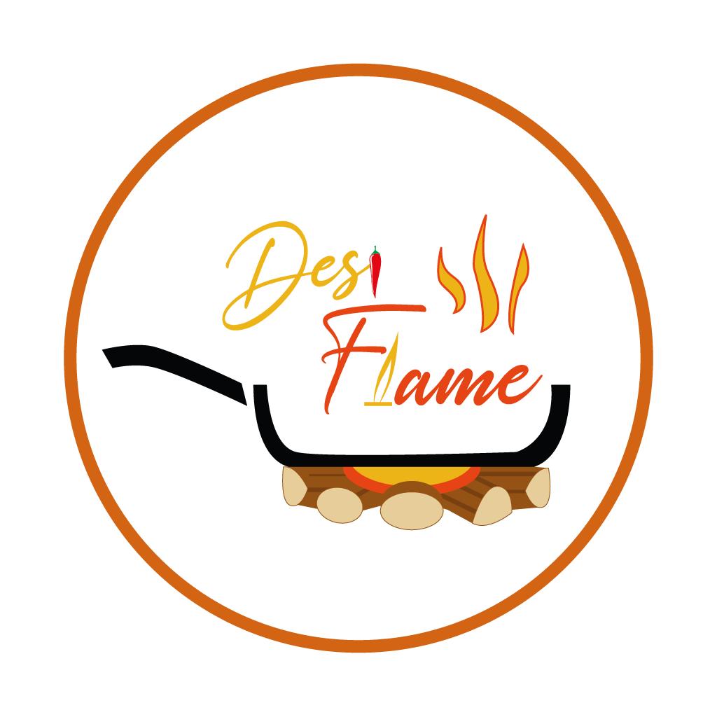 Desi Flame Online Takeaway Menu Logo