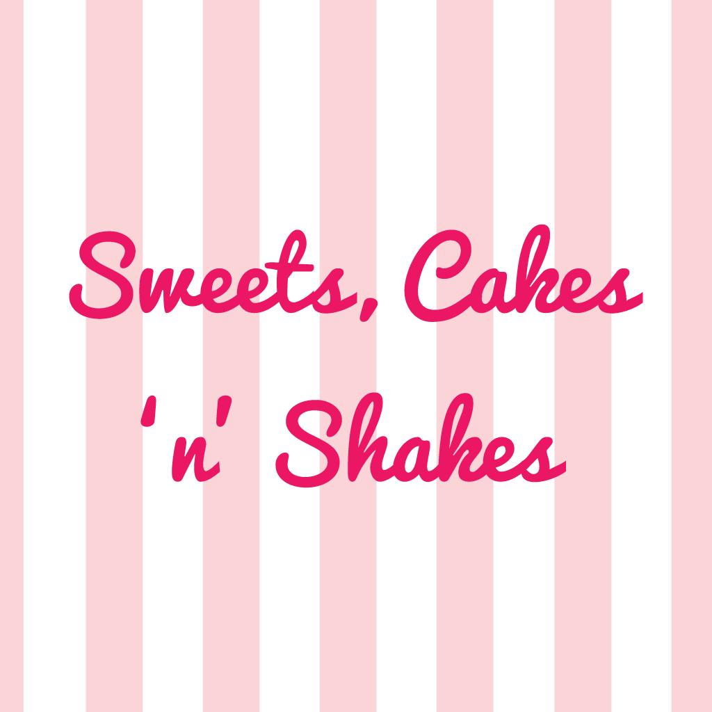Sweets Cakes n Shakes Online Takeaway Menu Logo