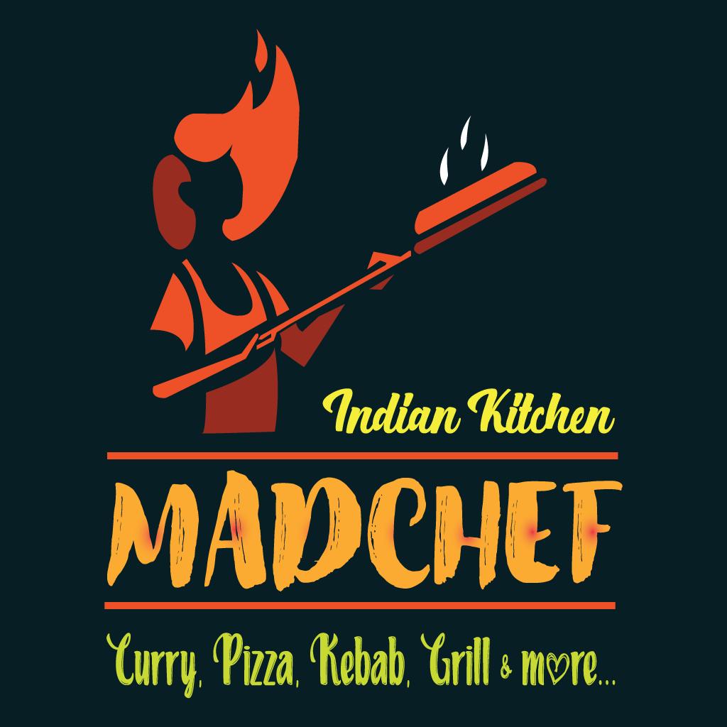 Mad Chef Online Takeaway Menu Logo
