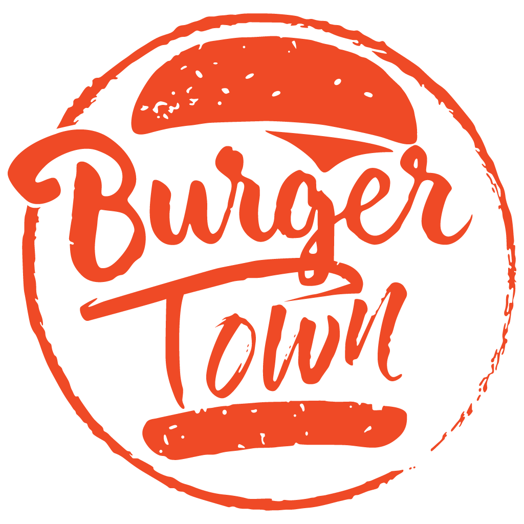 Burger Town  Online Takeaway Menu Logo