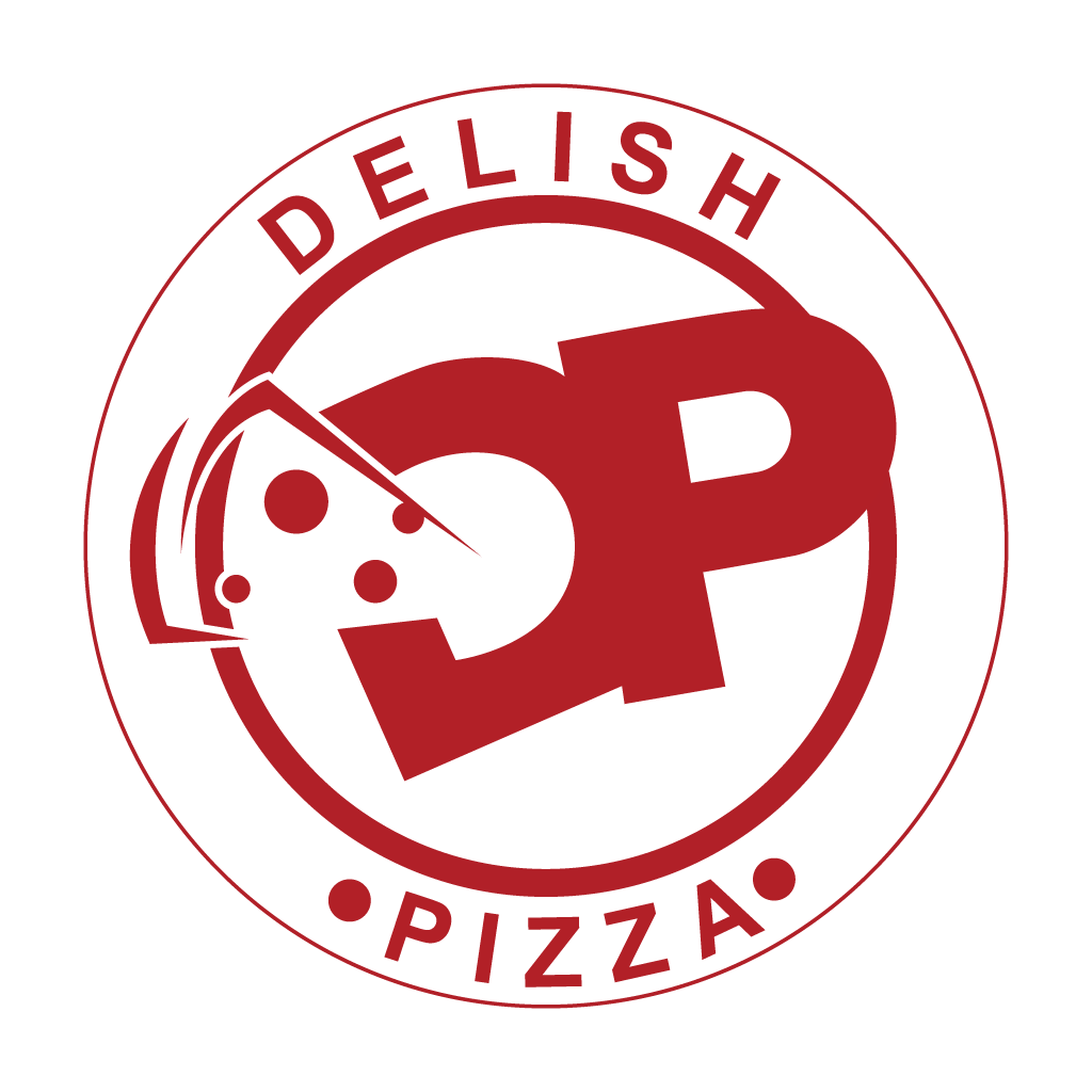 Delish Pizza Online Takeaway Menu Logo