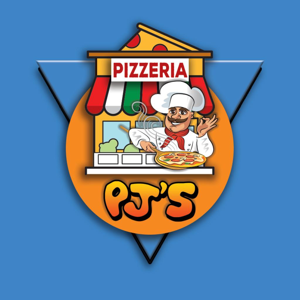 PJ's Pizzeria Online Takeaway Menu Logo