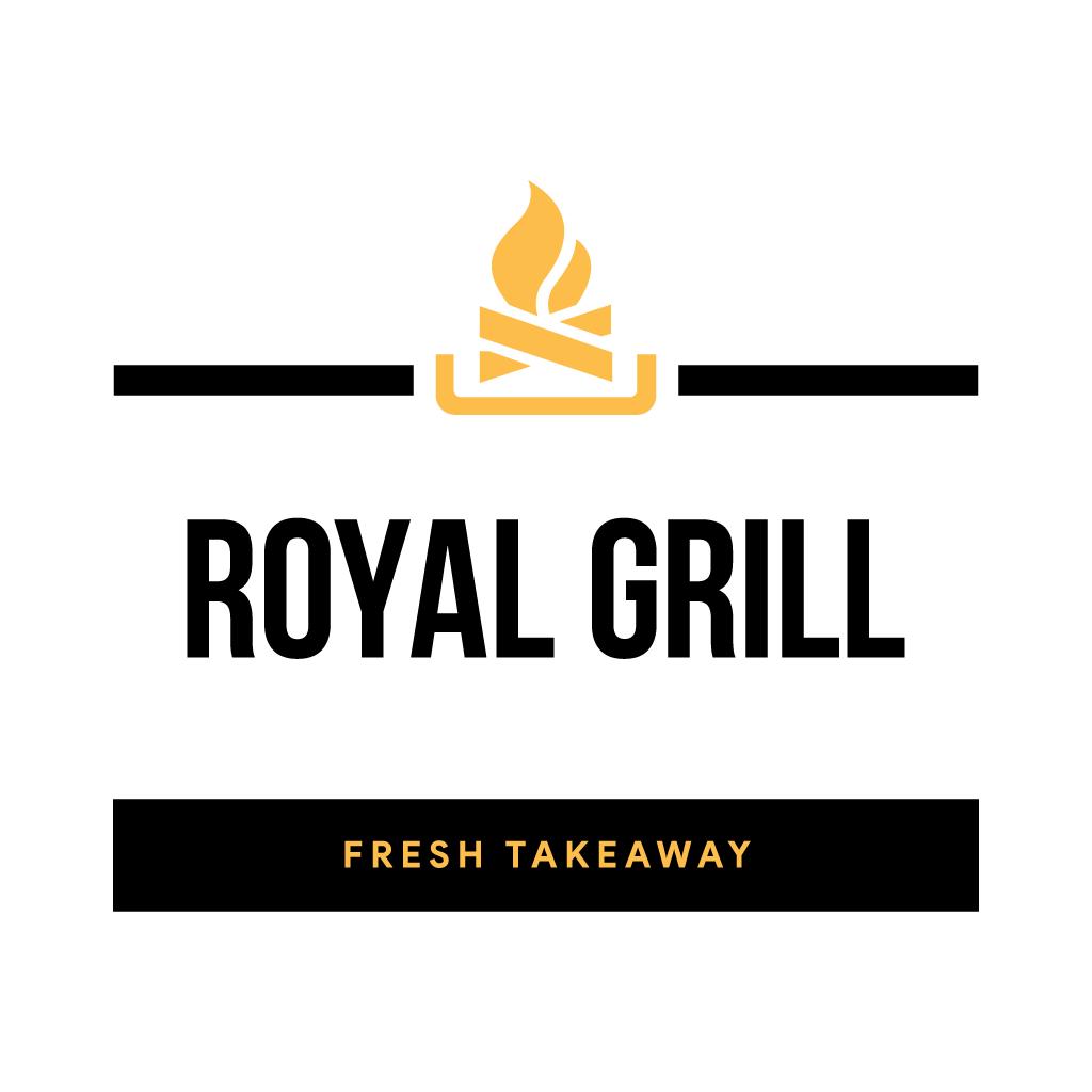 Royal Grill Online Takeaway Menu Logo