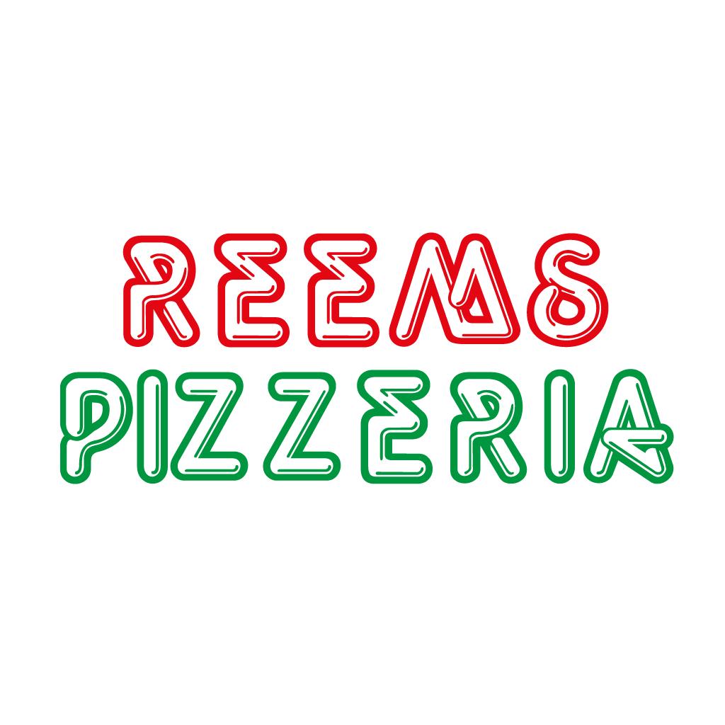 Reems Pizzeria  Online Takeaway Menu Logo