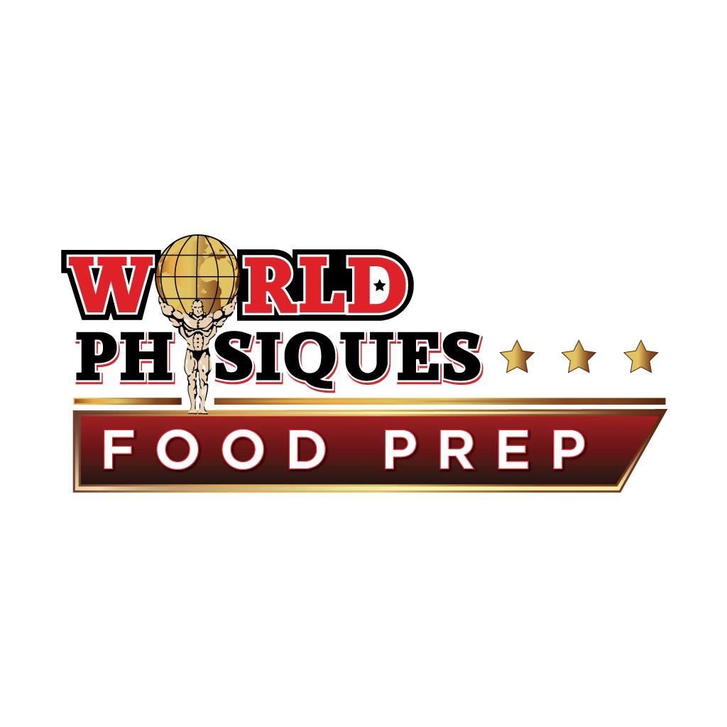 World Physiques Food Prep Online Takeaway Menu Logo