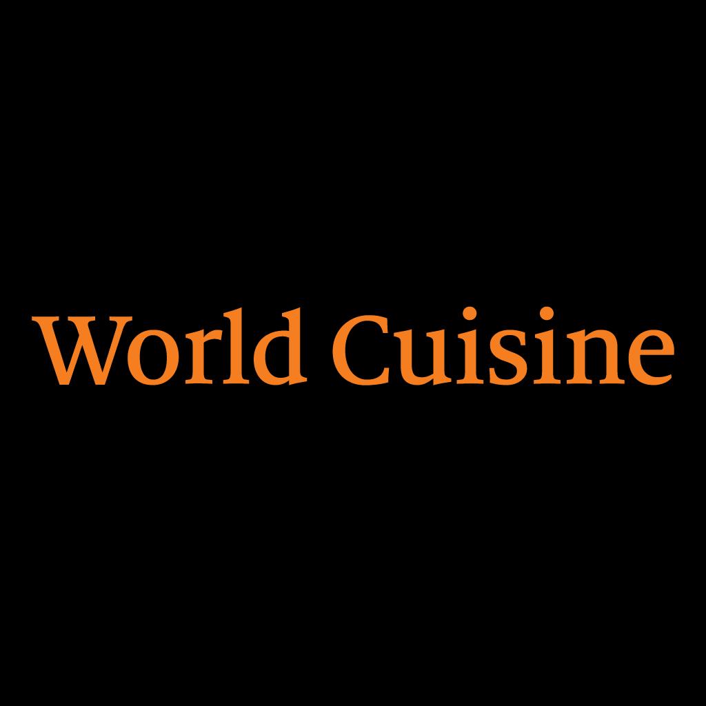 World Cuisine Online Takeaway Menu Logo