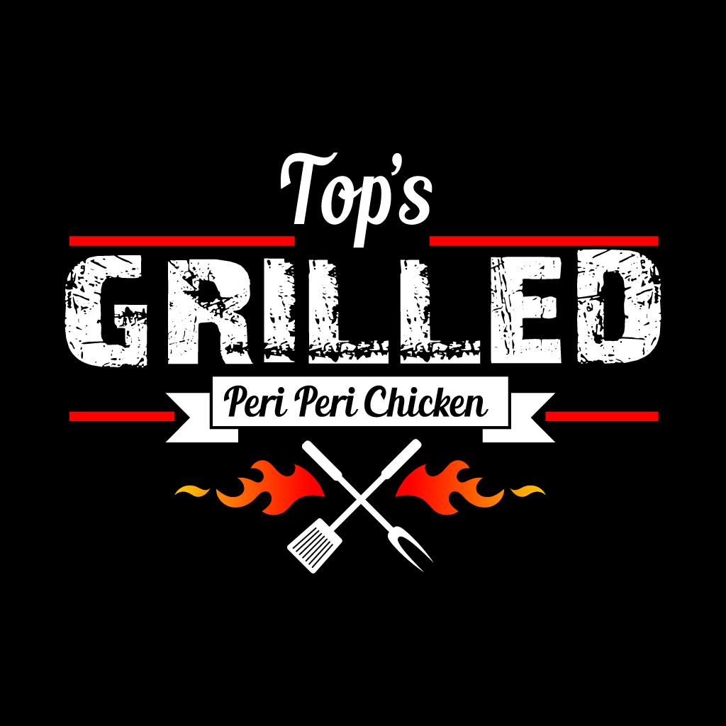 Tops Peri Peri & Pizza Online Takeaway Menu Logo