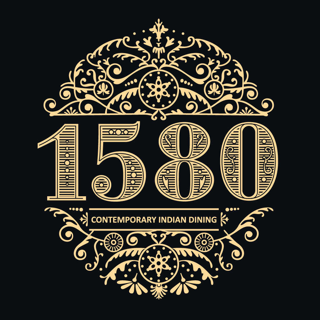 1580 Contemporary Indian Dining Online Takeaway Menu Logo