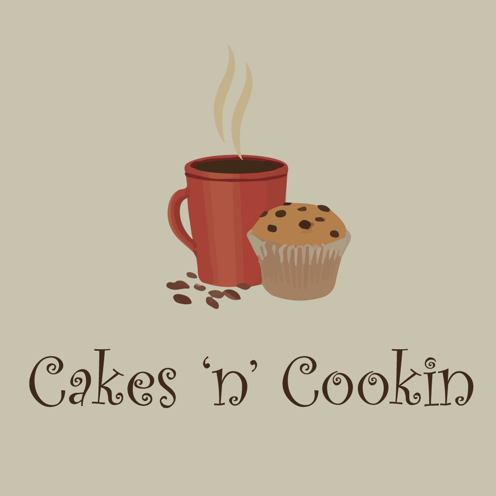 Cakes n Cookin Cafe Online Takeaway Menu Logo