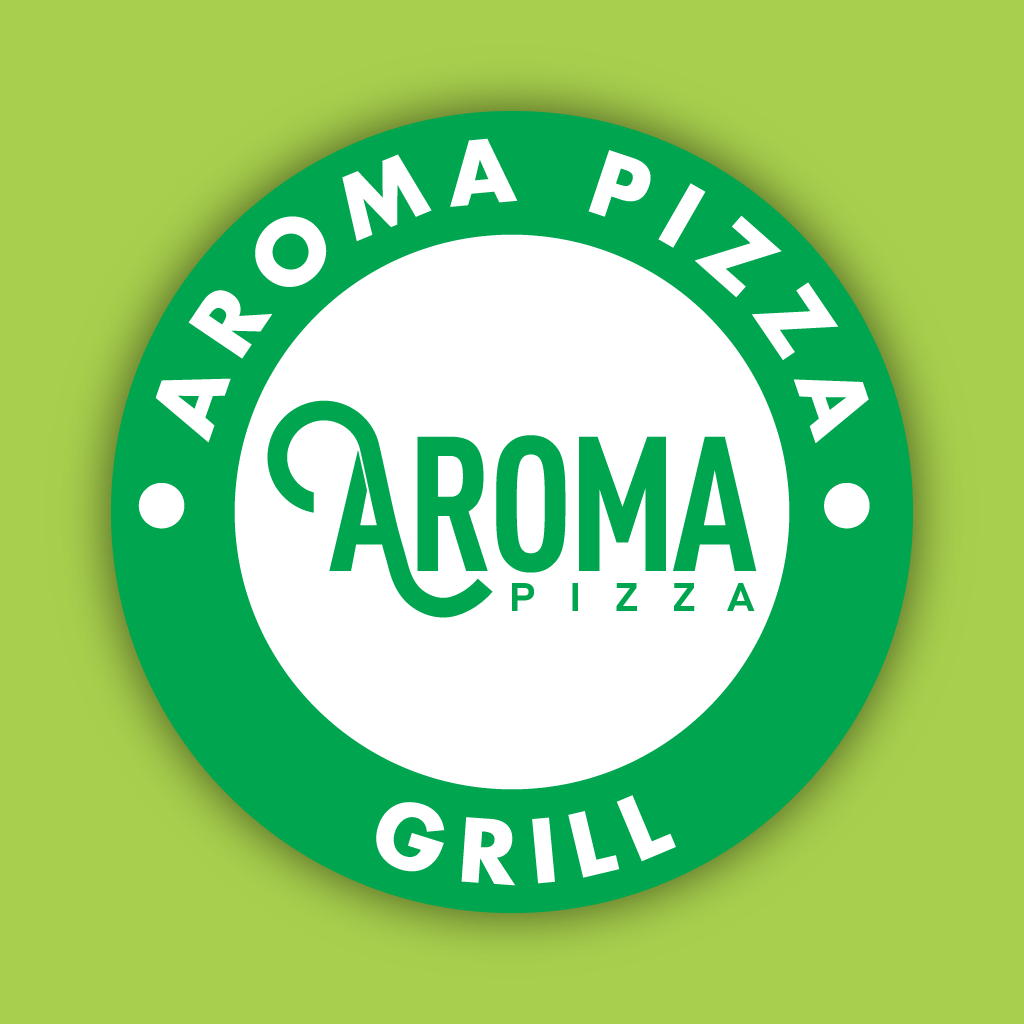 Aroma Pizza Grill Online Takeaway Menu Logo