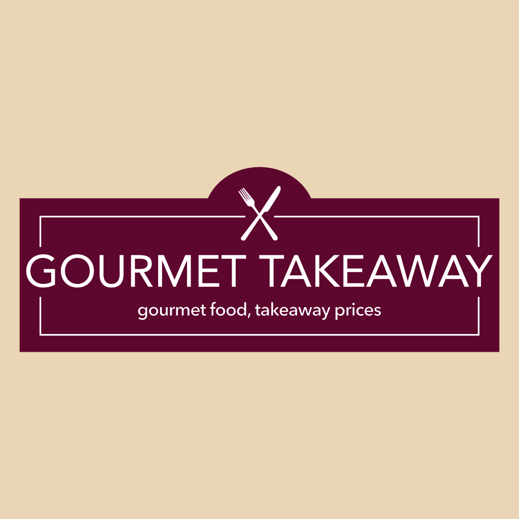 Gourmet Takeaway Online Takeaway Menu Logo