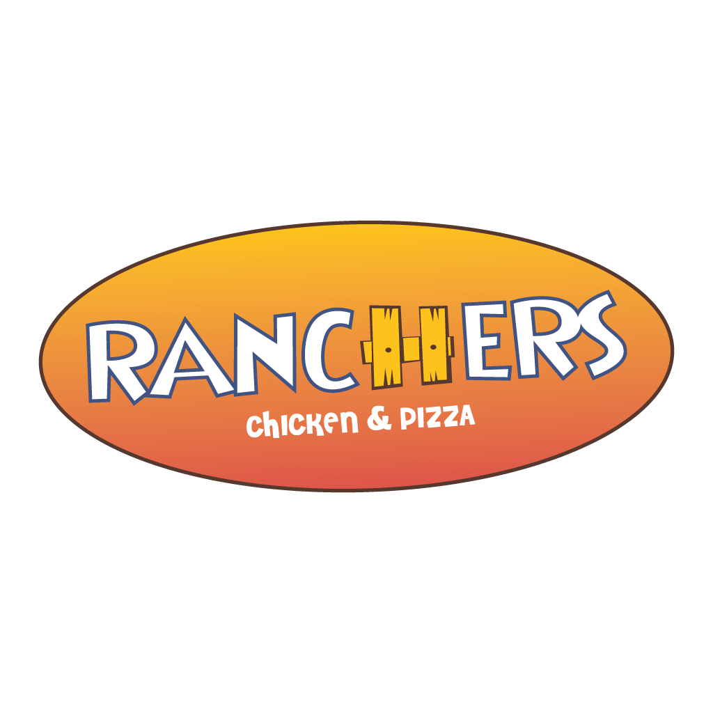 Ranchers Chicken and Pizza Online Takeaway Menu Logo