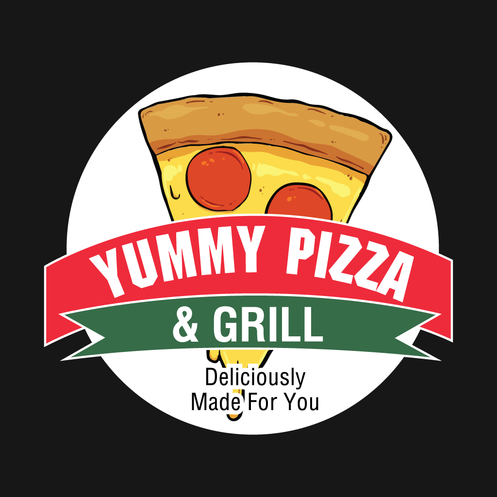 Yummy Pizza and Grill Online Takeaway Menu Logo
