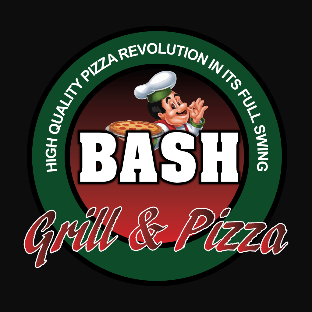 Bash Grill & Pizza Online Takeaway Menu Logo