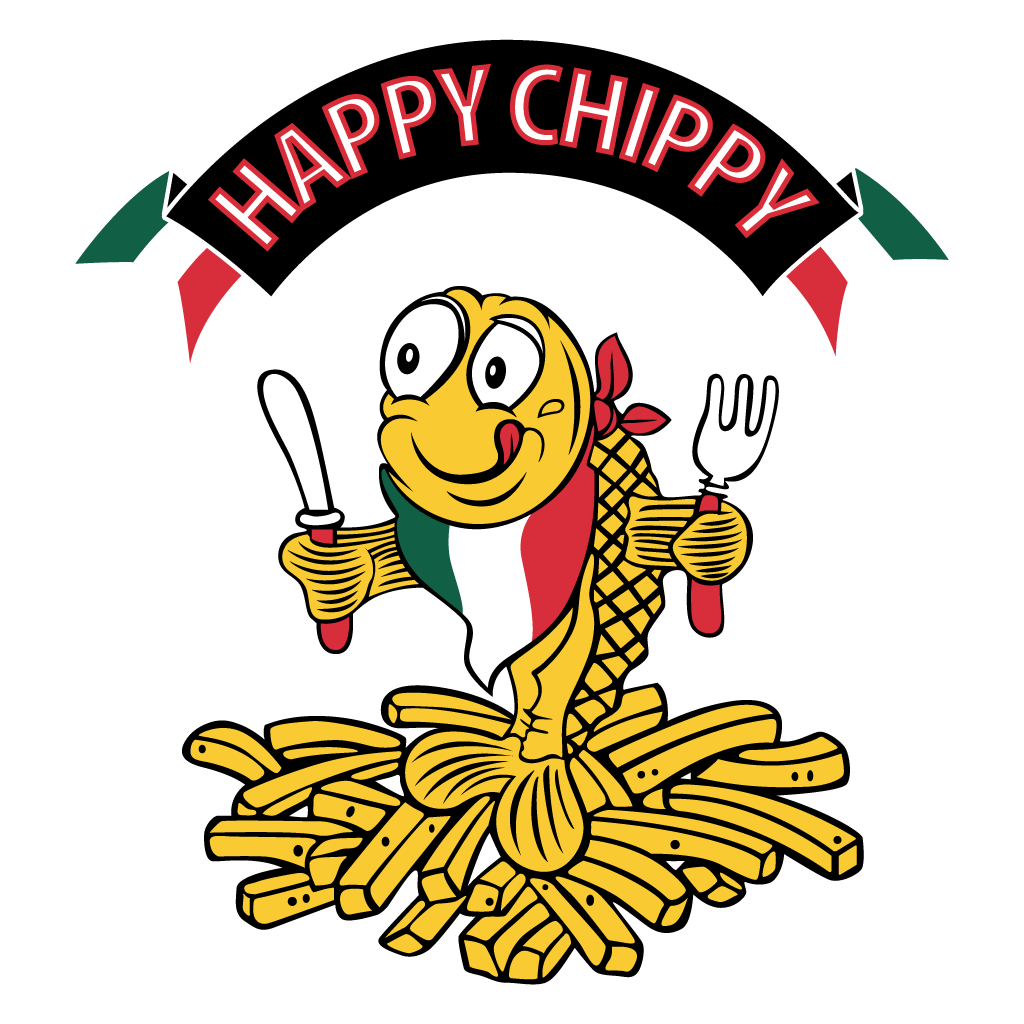 Happy Chippy Online Takeaway Menu Logo