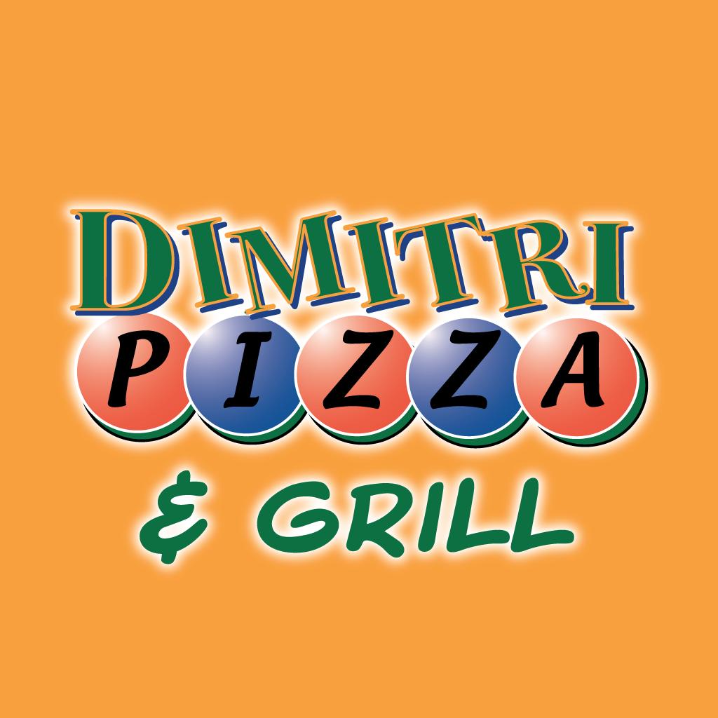 Dimitri Pizza & Grill Online Takeaway Menu Logo