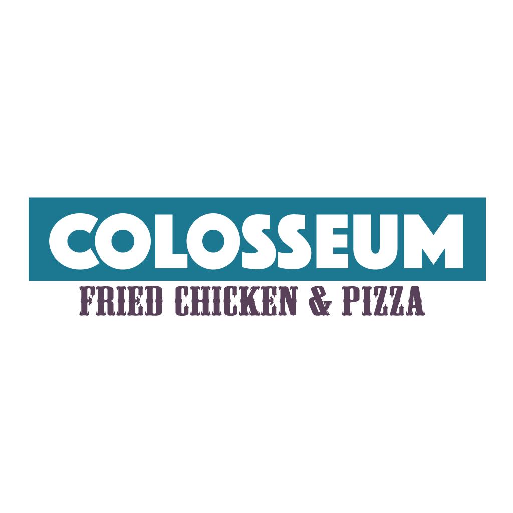 Colosseum Fried Chicken & Pizza Online Takeaway Menu Logo