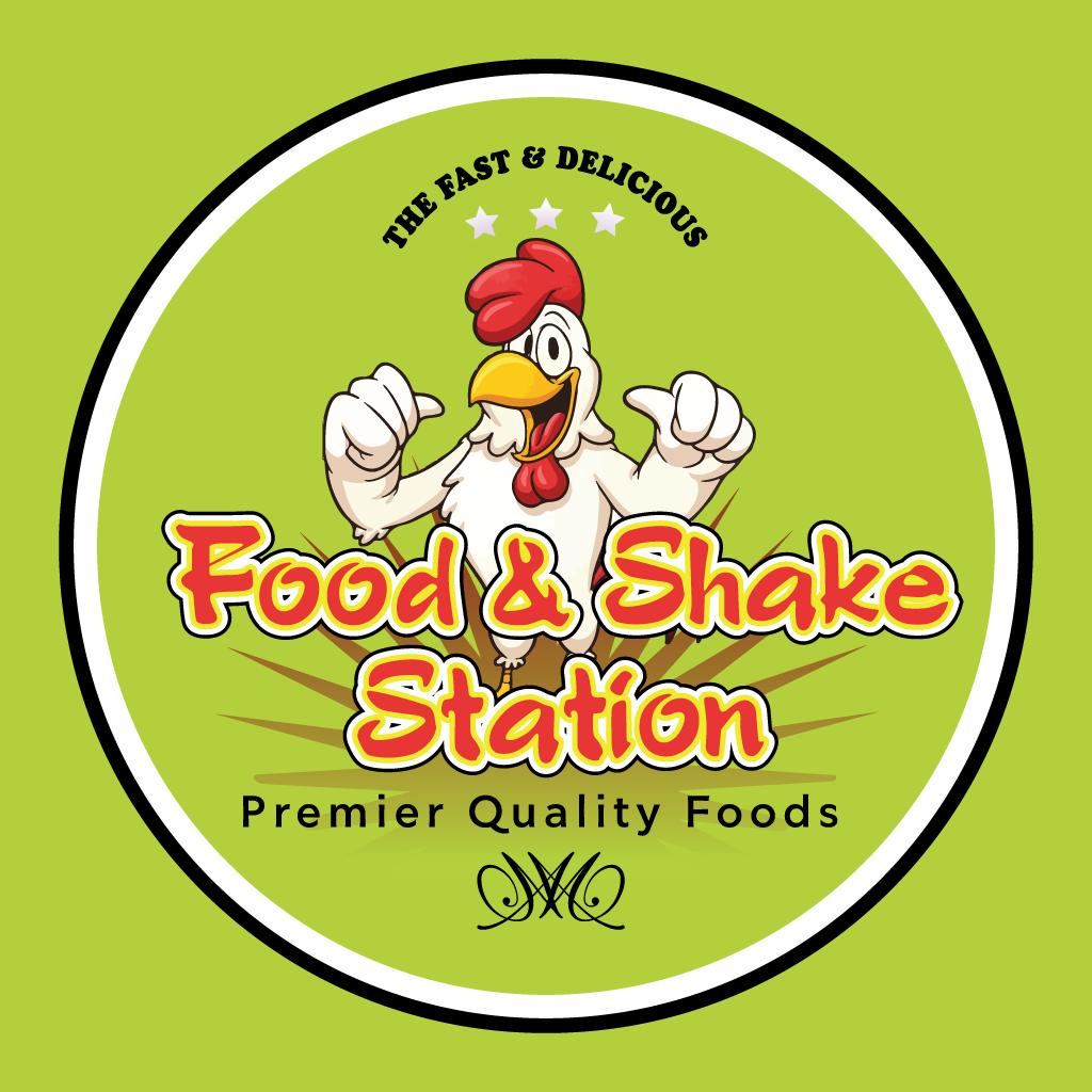Food & Shake Station Online Takeaway Menu Logo