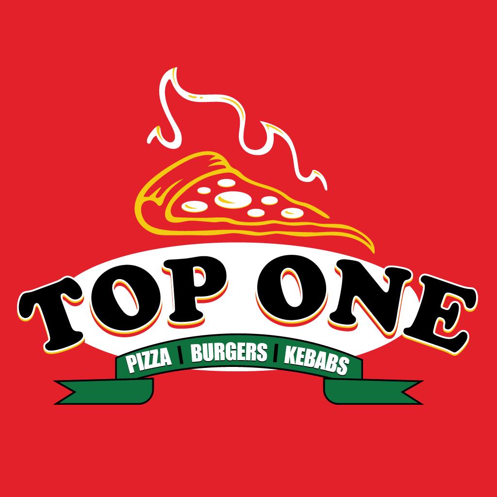 Top One  Online Takeaway Menu Logo