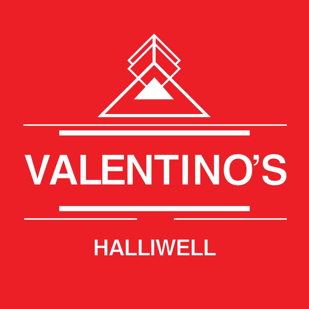 Valentino's Halliwell Online Takeaway Menu Logo