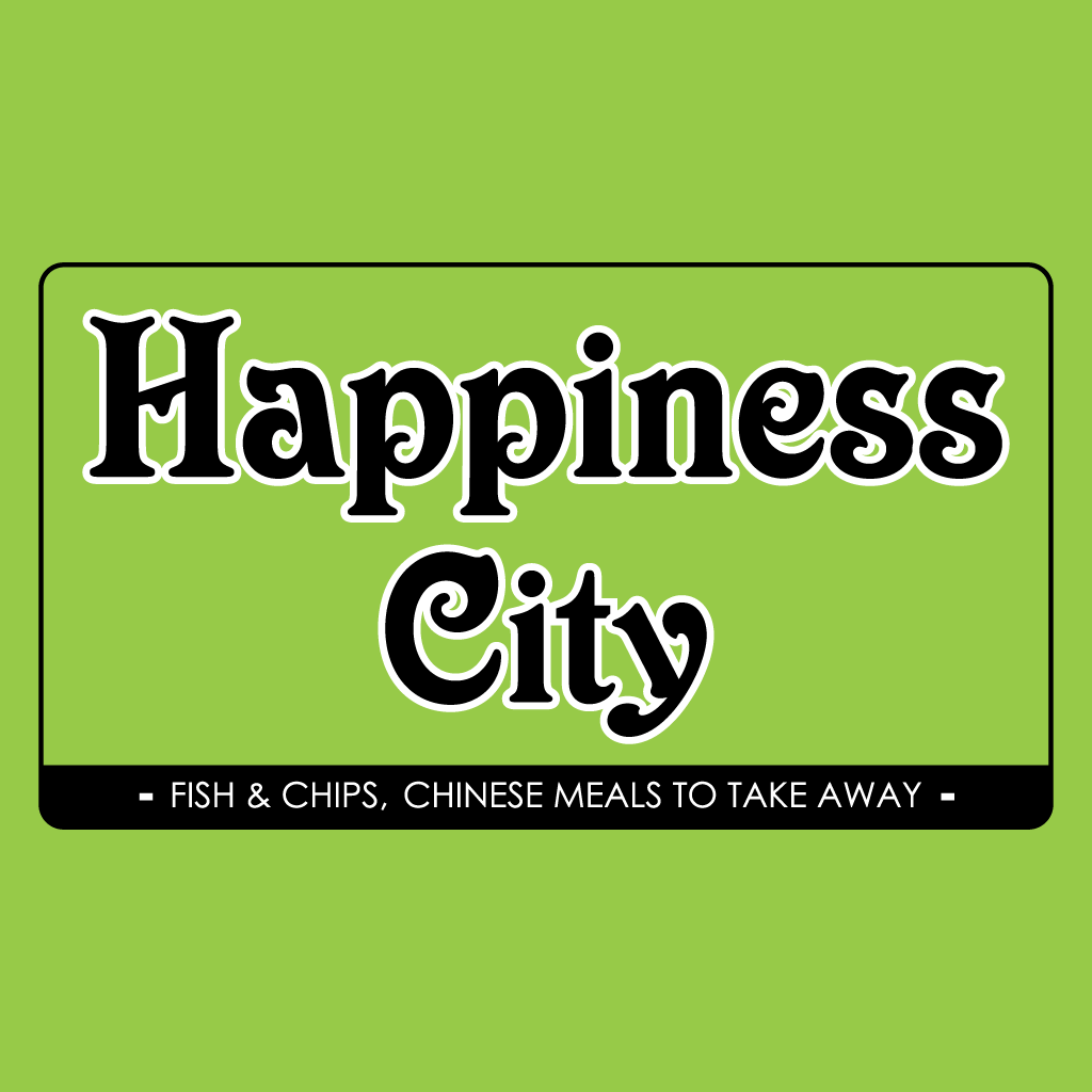 Happiness City Online Takeaway Menu Logo