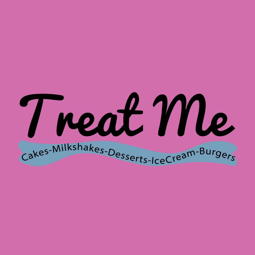 Treat Me Online Takeaway Menu Logo
