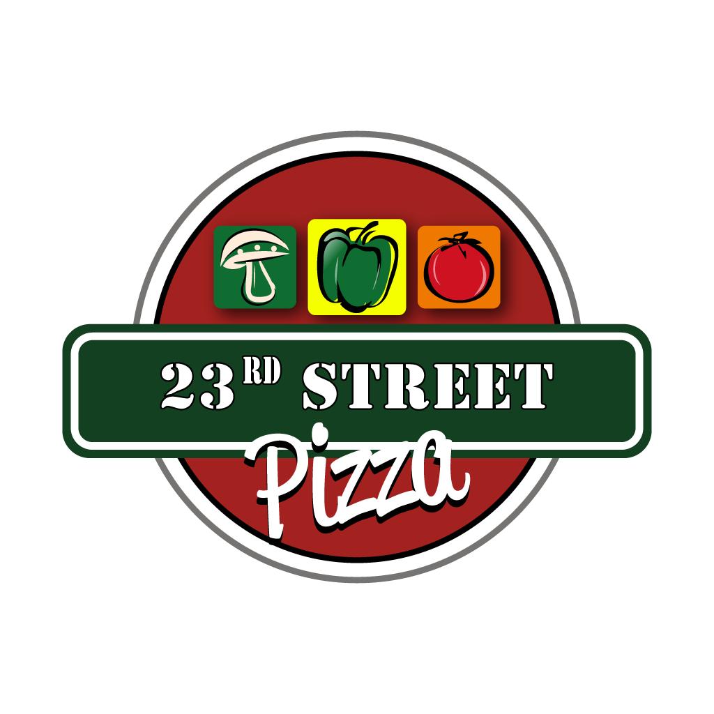 23rd Street Pizza Online Takeaway Menu Logo