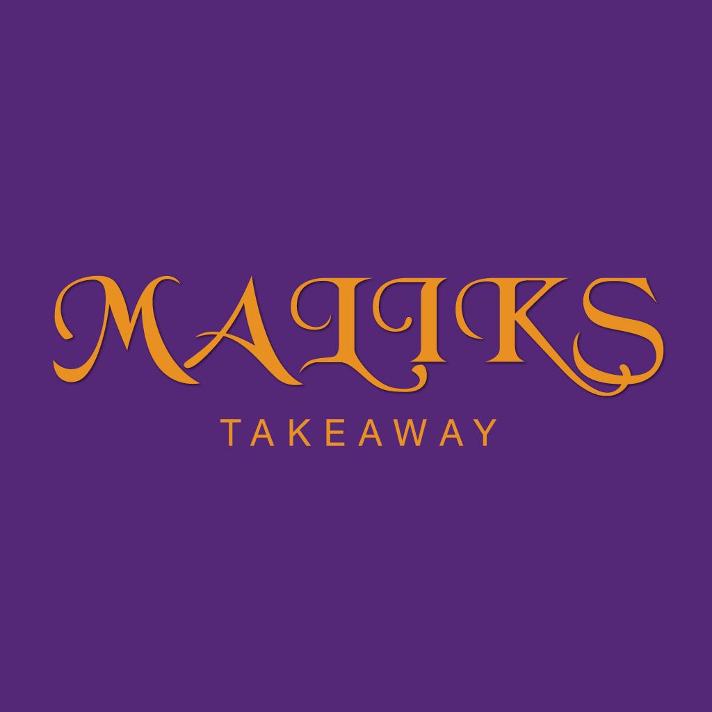 Maliks Online Takeaway Menu Logo